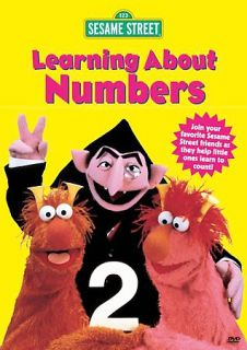 Sesame Street   Learning About Numbers DVD, 2004