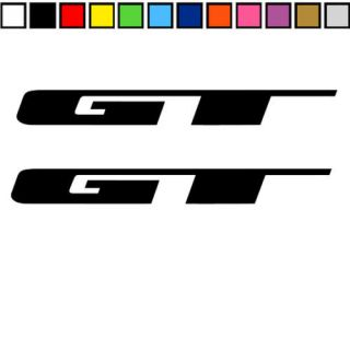 2x gt bicycles frame sticker decal mountain mtb sticker time