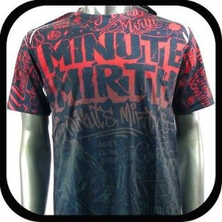 Mirth T Shirt Tattoo bmx Graffiti Rock N98 Sz L Skate Board Indie Vtg