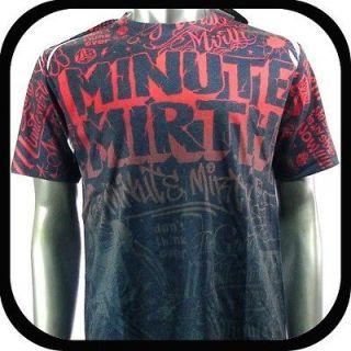 Mirth T Shirt Tattoo bmx Graffiti Rock N98 Sz L Skate Board Indie Vtg