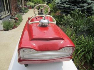 garton fire chief pedal car vintage fire engine pedal car