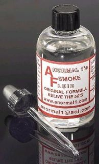 american flyer smoke fluid 4oz bottle w dropper time left