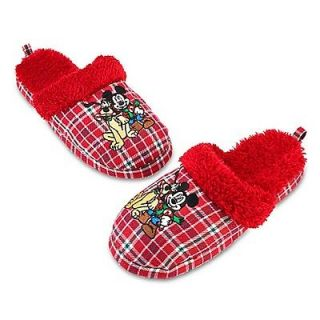 NWT. mickey mouse and pluto toddler boy slipper size 9/10