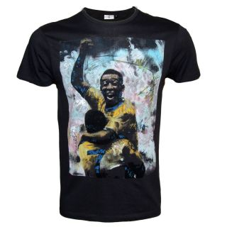 Mens Pele T Shirt Art Work By Sidney Maure Size XS S M L XL Officially