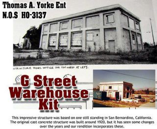Newly listed G STREET WAREHOUSE Kit YORKE/SCALE MODEL MASTERPIECES fsm