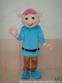 dwarf adult size mascot cartoon costume clothing suit