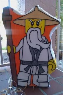 newly listed amazing lego ninjago sensei pinata party time left