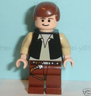 Star Wars Lego NEW HAN SOLO Minifig 10188 10179 8038 Minifigure