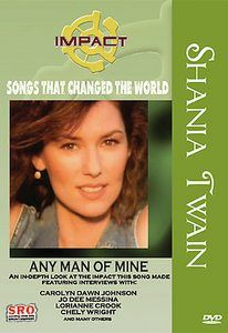 Shania Twain   Any Man of Mine (DVD, 200