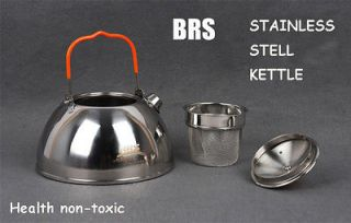 Hiking Camping Kitchen Cookware Mini Stainless steel kettle Teapot New