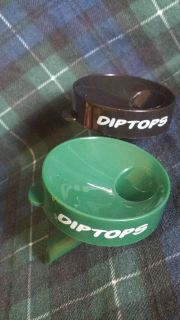 Dip Tops Snap On Tobacco Spittoon No Mess DipTops Fits 8,12,16 OZ