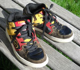 Tony Hawk Skateboard leather shoes Boys size 7 M, Very Nice