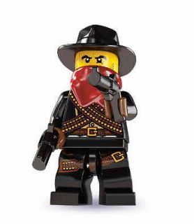newly listed lego 8827 mini figure series 6 bandit time
