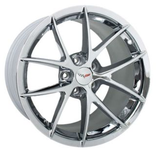 c6 corvette spyder chrome wheels c6 sizes