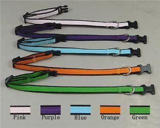 Dog Supplies wholesale pet collars Small Dog Collar Nylon 5 Color