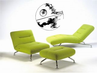 STARWARS DEATH STAR   WALL ART STICKERS   VINYL ART DECALS