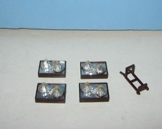 1980s Buddy L Hersheys Kisses Delivery Truck Cargo Boxes Lot