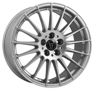18 WOLFRACE MESSINA ROYAL SILVER WHEELS AND TYRES BRAND NEW 5X112