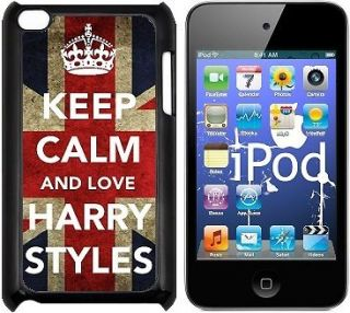 HARRY STYLES KEEP CALM 1D ONE DIRECTION back cover for IPOD TOUCH 4 4G
