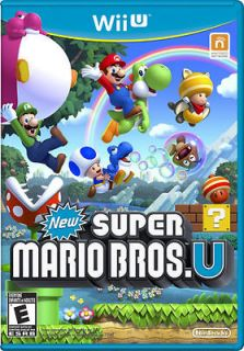 new super mario bros u wii u 2012 brand new
