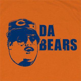 DA BEARS T SHIRT FUNNY CHICAGO SNL FOOTBALL FANTASY VINTAGE DITKA