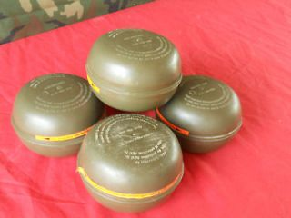 Swiss Gas Mask Filters 40mm Military Survival NBC Prepper Bug Out