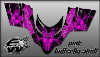 POLARIS DRAGON,SHIFT,RMK, I.Q.,SWITCHBACK graphics kit   pink