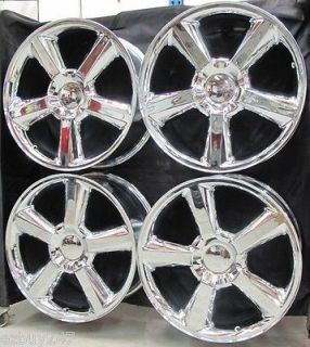 22 CHEVROLET GMC ESCALADE FACTORY STYLE CHROME WHEELS RIMS 5308