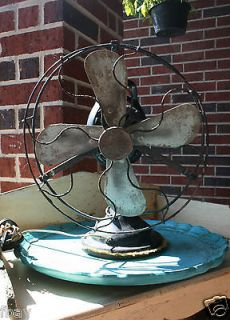 GE GENERAL ELECTRIC OSCILLATING DESK FAN Great Collector Piece
