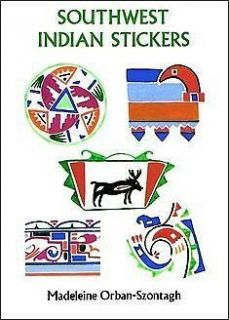 Southwest Indian Hopi Navajo Tribes Sticker Set   24 Stickers