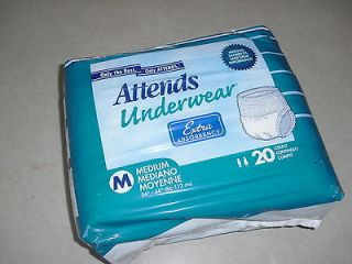 new attends adult large diapers 20 count pull ups time