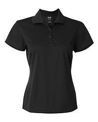 Adidas Golf Ladies ClimaLite Basic Womens Polo Shirt S 2XL Black