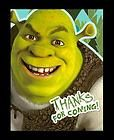 Shrek Forever After THANK YOU NOTES Birthday Party Supplies Cards