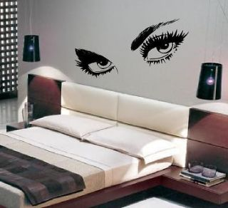 giant eyes large wall art sticker decal stencil art 5