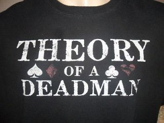 THEORY OF A DEADMAN TSHIRT Rock Band Concert Tour FREE USA SHIPPING