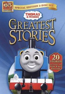Thomas Friends The Greatest Stories DVD, 2010, 2 Disc Set