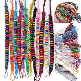 Wholesale Lots Beads Braid Handmade Fashion Friendship Bracelets