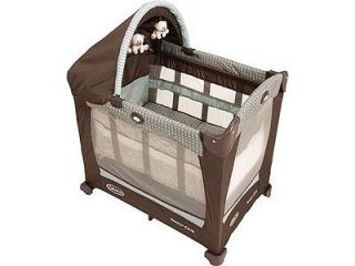 graco baby travel lite portable crib notting hill new great