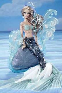 The Mermaid Barbie Doll   Gold Collector Label 2012 by Linda Kyaw