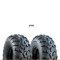 TWO 23/7.00 10, 23/7.00X10 CARLISLE AT489 ATV Four Wheeler Tires