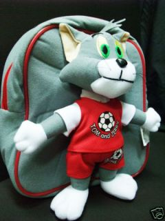 speical tom and jerry 11 bag backpack plush toy new