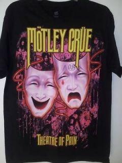 MOTLEY CRUE vintage style theatre of pain T SHIRT NEW S M L XL