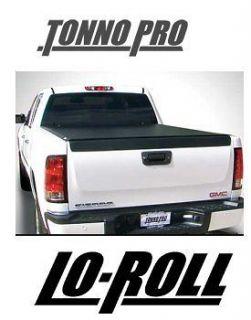 Tonneau Cover TonnoPro Lo Roll Truck Chevy Silverado Suburban GMC