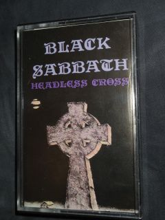 Black Sabbath Headless Cross Cassette I.R.S Records RARE and OOP NEW