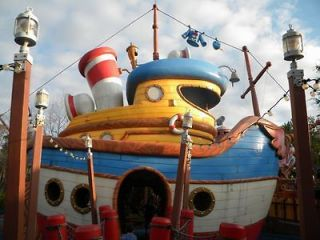 Newly listed Disney World Toon Town Blueprints   Donald Ducks Boat