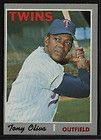 1970 topps 510 twins tony oliva o6 nr mt mt