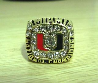 Newly listed Miami Hurricanes Name Torretta National championship ring