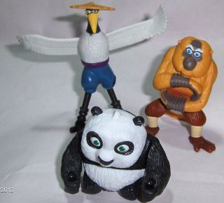 Mcdonalds Toy Kung Fu Panda Movie Master Mantis # 6 Action Figure Cake