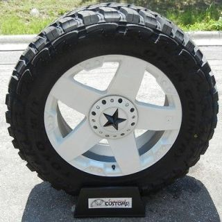 XD ROCKSTAR WHEELS RIMS 33 TOYO OPEN COUNTRY MT CHEVY SILVERADO 1500
