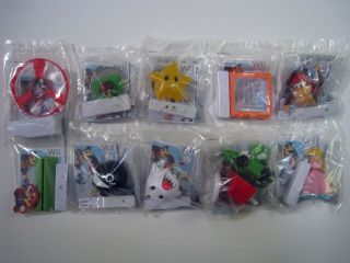 2008 burger king nintendo wii toys complete set of 10